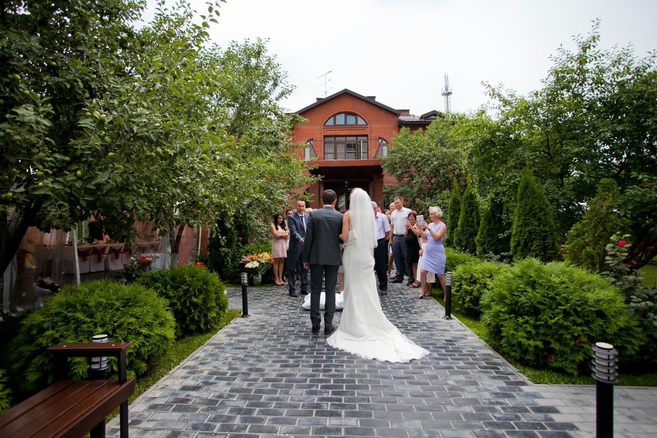 Отели для свадьбы в подмосковье
